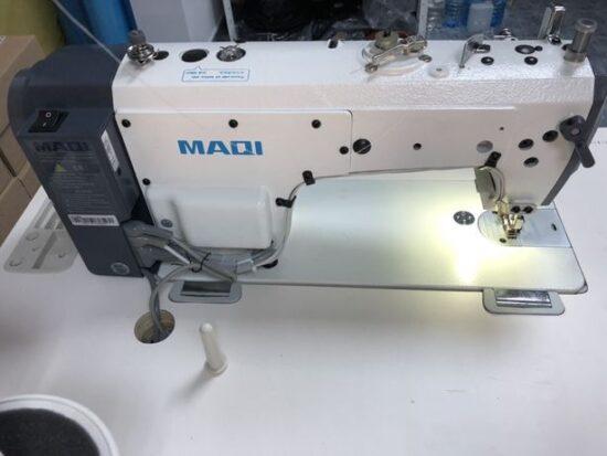 maqi q6 2 Masina de cusut liniar automata MAQI Q6 cu circuit inchis de ulei